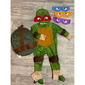 Boys NINGA TURTLES Dress up Costume 2T-3T